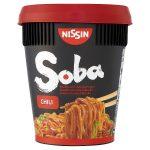 nissin soba cup noodles chilli 90g