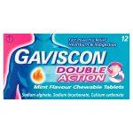gaviscon double action [12 for 10] 12s