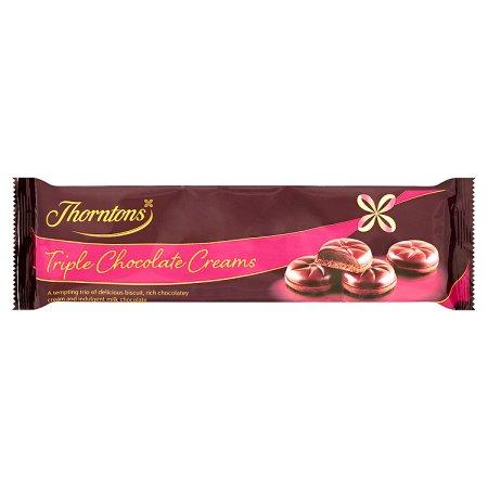 thorntons triple chocolate cream 160g