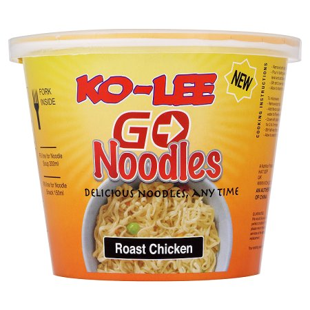 kolee go cup noodles roast chicken 65g