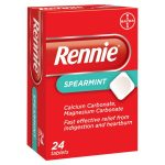 rennies spearmint 24s