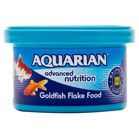 aquarian gold fish flakes 13g