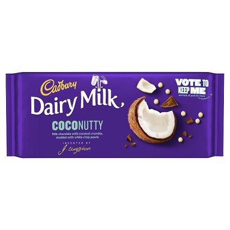 cadbury inventor coconut block 105g