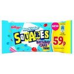 kelloggs rice krispies squares birthday cake 59p 19.5g