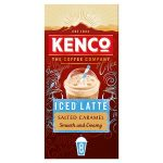 kenco salted caramel iced latte 8s