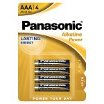 panasonic alkaline aaa battery 4s