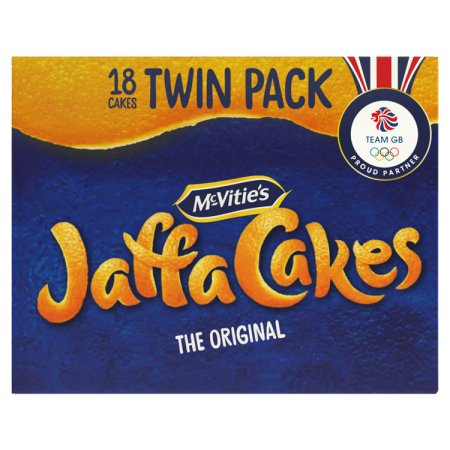 mcvities jaffa cakes twin pack 9pk