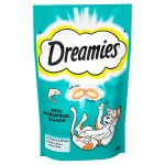 dreamies cat treats with salmon 60g