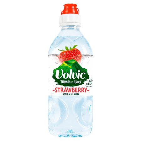 volvic tof strawberry sports cap 75cl