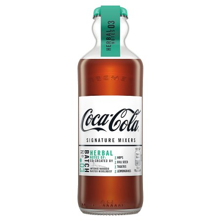 coca cola mixer herbal 200ml