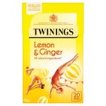 twinnings lemon & ginger 20s