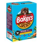 bakers senior chicken & vegatable 1.1kg