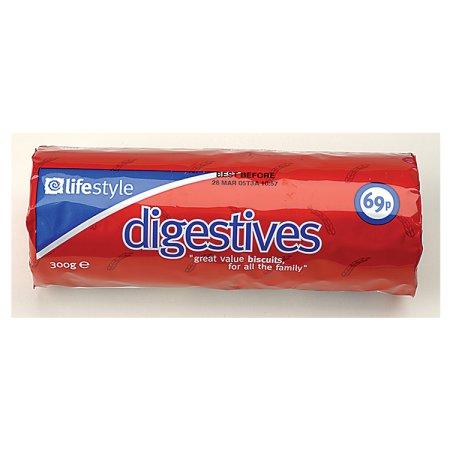 lifestyle digestives 69p 300g
