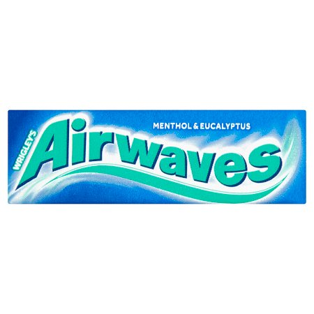 wrigley airwaves menthol & eucalyptus 10s