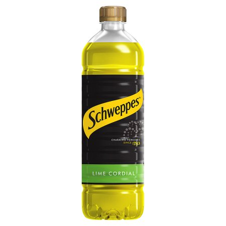 schweppes lime cordial 1ltr