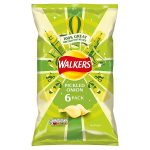 walkers pickled onion [6 pack] 25g