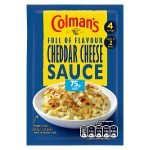 colmans cheddar cheese sauce mix 75p 40g