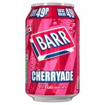 barrs cherryade 49p 330ml