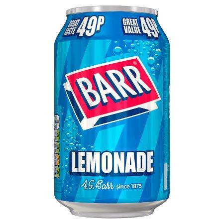 barrs lemonade 49p 330ml