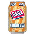 barrs ginger beer 49p 330ml