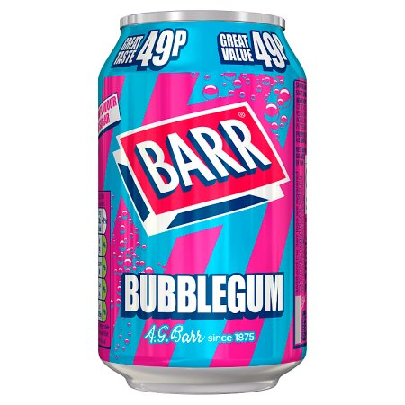 barrs bubblegum 49p 330ml