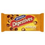 mcvities digestives nibbles caramel handy bag 37g