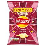 walkers smoky bacon 65p 32.5g