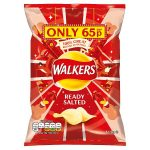 walkers ready & salted 65p 32.5g