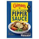 colmans pepper sauce mix 40g
