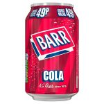 barrs cola 49p 330ml