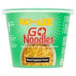 kolee go cup noodles mix vegetable 65g