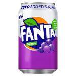 fanta zero grape 65p 330ml