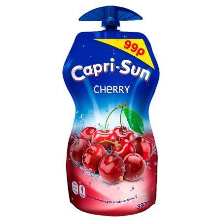 capri sun cherry 99p 330ml