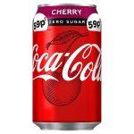 coke zero cherry 59p 330ml