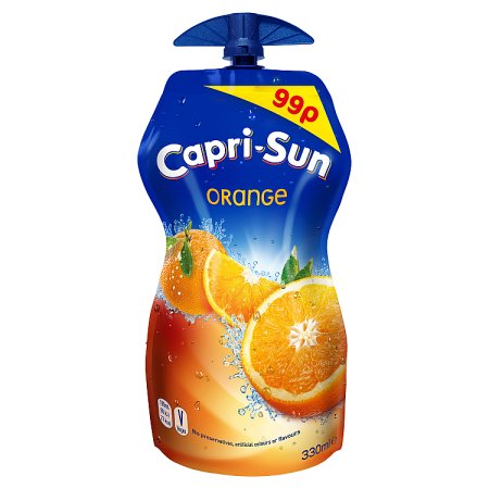 capri sun orange 99p 330ml