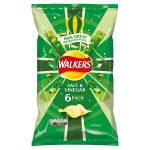 walkers salt & vinegar [6 pack] 25g
