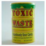 toxic waste hazardously sour candy drum 42g