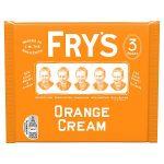 frys orange choclate cream [3 pack] 3pk