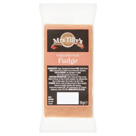 mrs tillys fudge 95g