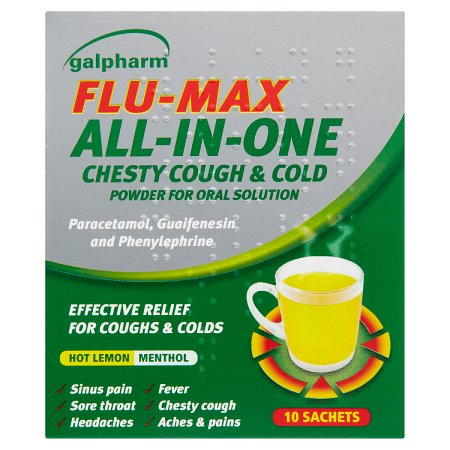 galpharm flu max all in one sachets 10s