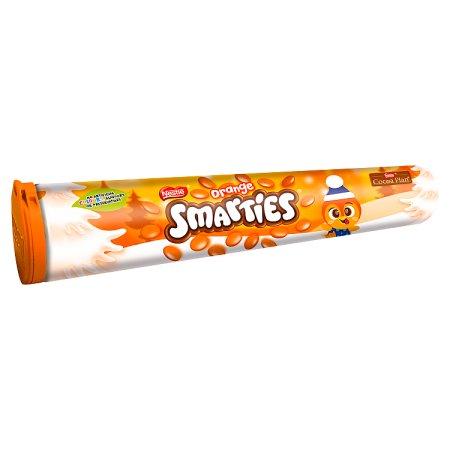 smarties orange giant tube 130g
