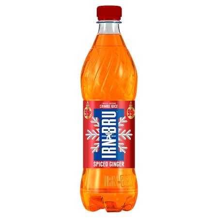 irn bru spiced ginger crimble juice 99p 500ml