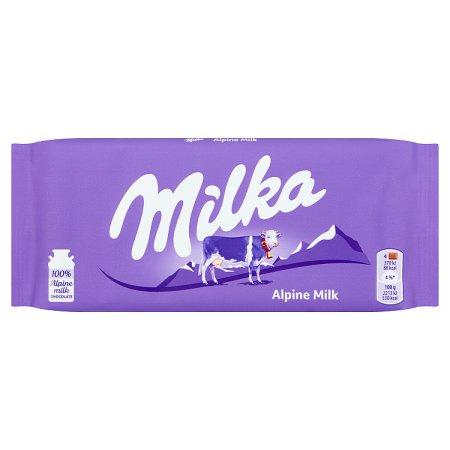 milka apline block 100g