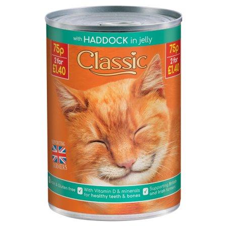 butchers classic cat haddock 75p 400g