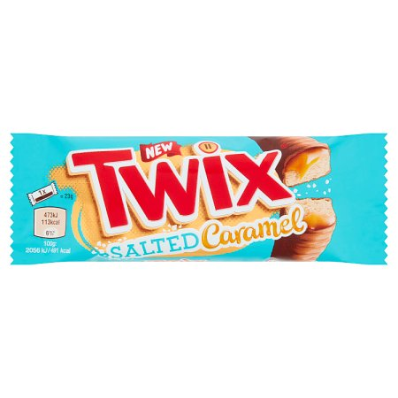 twix salted caramel twin 46g