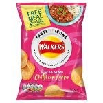 walkers icons las iguanas chilli 32.5g