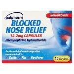 galpharm blocked nose relief capsules 12s