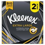 kleenex extra large twin pack 44s