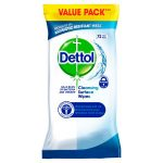 dettol anti bacterial wipes 72s