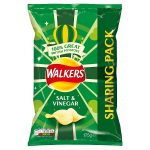 walkers salt and vinegar 175g